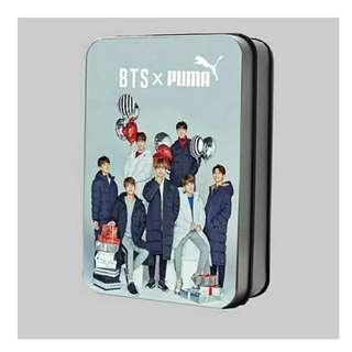 Preorder - BTS PUMA LOMOCARD TIN 30 PCS (exc.pos)