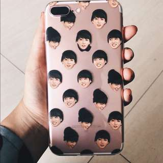 BTS HEAD CUSTOM PHONE CASE