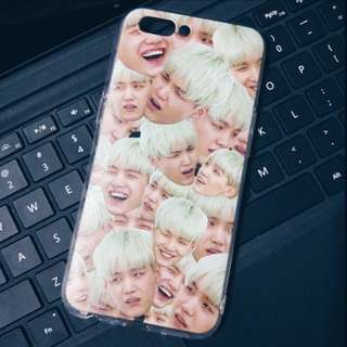BTS HEAD CUSTOM MADE PHONE CASE