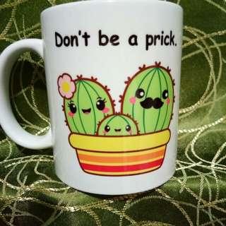 Mug(cactus design)