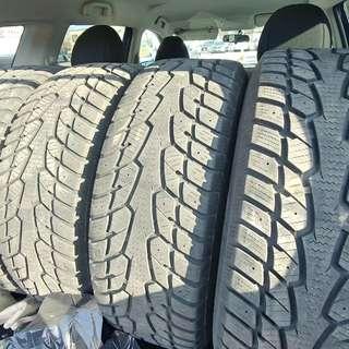 2014 subaru forester winter tires 225 /60R17