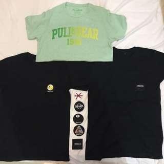 PULL N BEAR , BLACKOUT ORIGINAL (50.000 FOR 3)