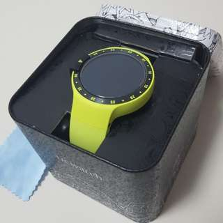 Tic watch s aurora sports andriod wear 2 yellow not huawei lg samsung fossil