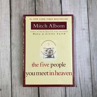 Best Deal! [Paperback] The Five People You Meet in Heaven - Mitch Albom (English)