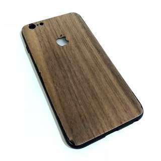 真•實木全包膠邊iPhone case for iPhone 6/6S plus