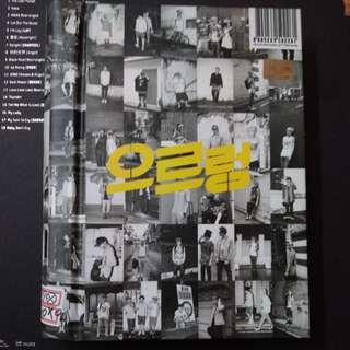 EXO GROWL ALBUM (KOR VER)