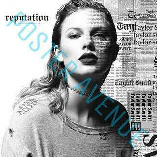 Taylor Swift Reputation Album cover Poster