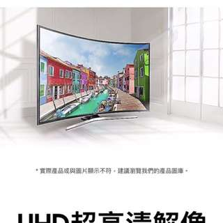 Samsung 49mu6880 4K curved smart tv 港行