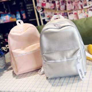 [INSTOCKS] PU Leather Backpack