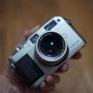 Contax G1 45mm F2 Lens