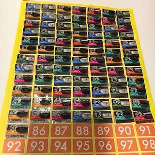 85個 惠康印花 頂級廚師 廚具系列 $50包郵