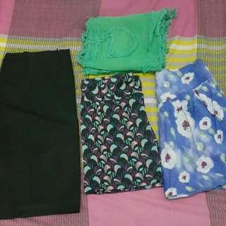 Skirt Bundle (4 Pcs)