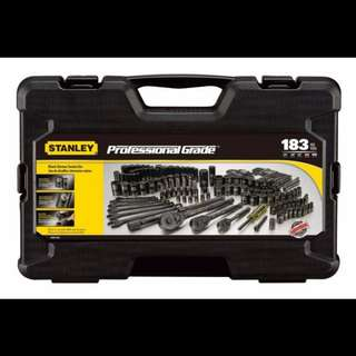 New stanley 183pcs Socket Set