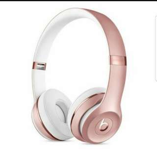 Beats Solo3 Wireless Headphones Limited Edition-Rose Gold