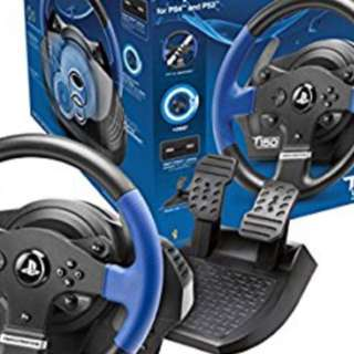 Playstation Thrustmaster T150 force feedback for PS 3 & 4