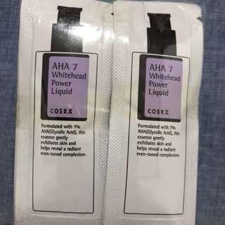 COSRX AHA 7 Whitehead Power Liquid Sample