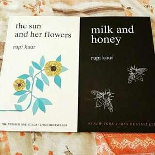 Milk And Honey, The Sun And Her Flowers - Rupi Kaur