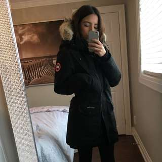 AUTHENTIC CANADA GOOSE LONG TRILLIUM COAT