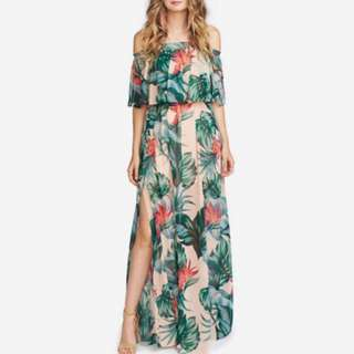 [OUT OF STOCK] Maxi Dress with slit