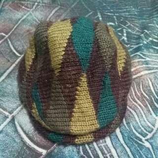 Back Number flat cap baretta
