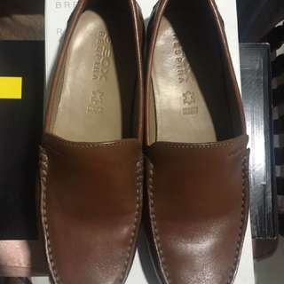 Geox Respira Leather Loafers