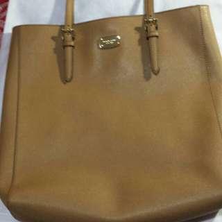 Mk leather tote bag (big)