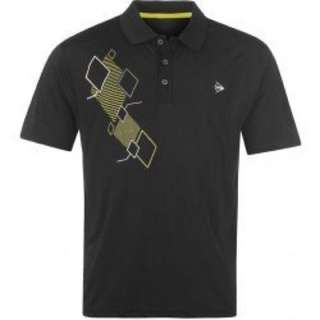 全新 Dunlop Golf Polo Shirt Poly Check 高爾夫POLO衫 M