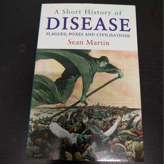 A Short History of Disease - Sean Martin [Paperback]
