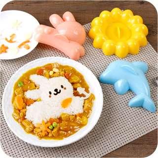 【廚房DIY】便當飯團米飯模具4件套