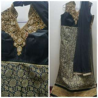 Long chudidar dress