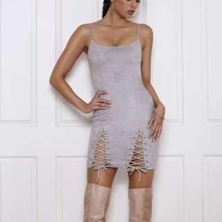 BROMLEY Dress (Dove)