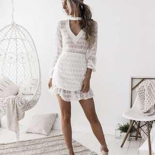 KASSIE Dress (White)