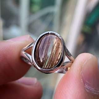 金髮晶戒指