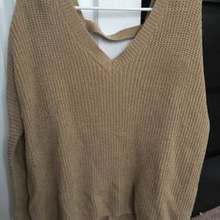 Tan Sweater
