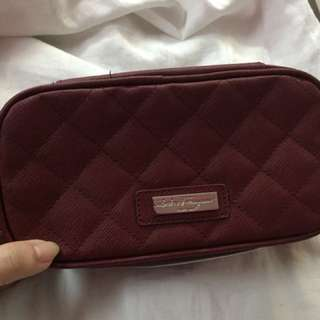 Salvatore Ferragamo Travel toiletry bag by Singapore airlines