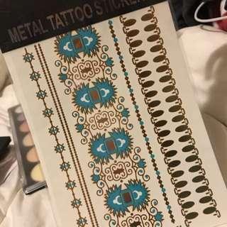 Metal tattoos