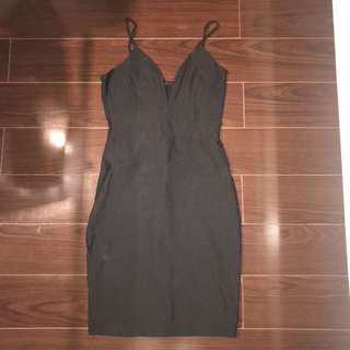 Black dress from M
