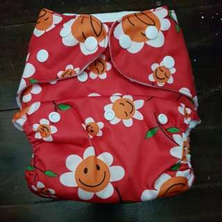 HAPPY FLUTE cloth diaper with insert