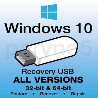 윈도우10 처음사용자용 pro 정품  풀셋 판매합니다 fpp