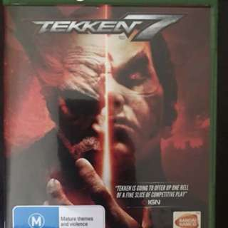 Tekken 7 only used once