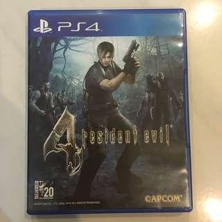 Resident Evil 4 R3 - PS4