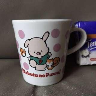 Sanrio 豬仔杯 kobutano 1997 日本