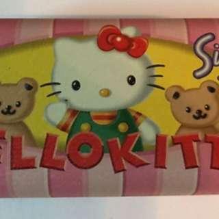 Sanrio Hello Kitty 眼鏡盒 鐵盒 1996