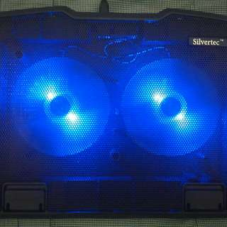"""Silvertec laptop Cooling fan good for 10"""" to 15"""" laptop"""
