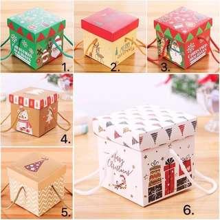 [Instocks] Christmas gift square box