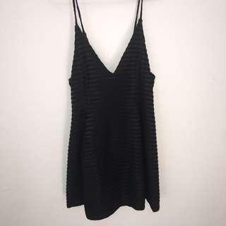 A-line Little black dress