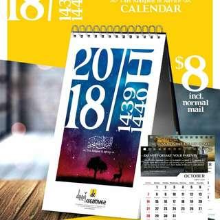 2018 Islam Calendar
