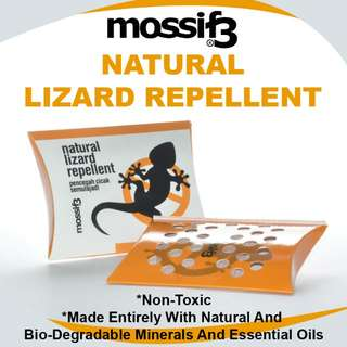 [MOSSIF3] Natural Lizard Repellent 20gm