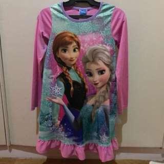 Frozen sleepwear long sleeves