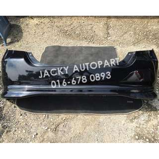 Rear Bumper Vtec Hitam Honda Jazz Fit Gd1 Gd3 Jpn